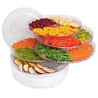 Сушилка для овощей и фруктов без терморегулятора Supretto. Высокое качество. Удобная сушилка. Код: КДН2239