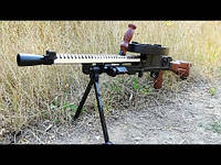 Игрушечный пневматический пулемет H399-1 Дегтярева