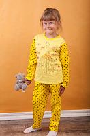 Пижама детская ,хлопок, унисекс ,цвета в ассортименте