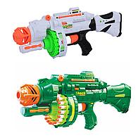 Автомат детский 7020, мягкие паралоновые пули, Blaze Storm, игрушечное оружие, стреляет очередью