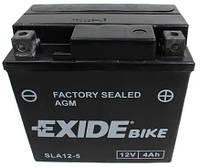 Аккумулятор 4 Ah 12V AGM SLA12-5 АКБ (AGM12-5) EXIDE