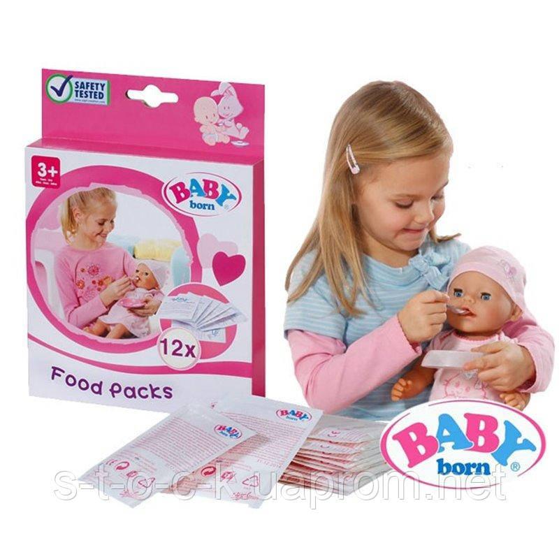 Каша для кукол Беби Бон (Baby Born) 12 пакетиков