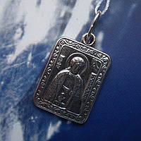 Серебряная подвеска-ладанка Святой Александр Невский