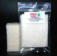 Японская вата Muji Cotton хлопок для электронных сигарет 10 шт., Япония