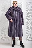 Зимнее женское пальто прямое больших размеров (р-ры 60-76), много расцветок