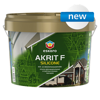 Eskaro Akrit F Silicоne Краска для минеральных и оштукатуренных фасадов 2.7 л