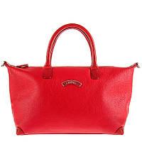 Женская кожаная сумка красного цвета TONY PEROTTI 6080