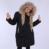 Пальто зимнее для девочки ANERNUO 130,140,170