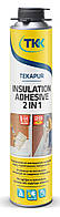 Клей-пена Tekapur Insulation Adhesive 2 в 1, 750 мл