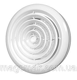 Диффузор круглый потолочный с фланцем d 125 мм (12,5ДК)