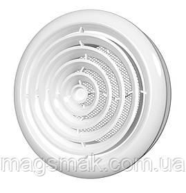 Диффузор круглый потолочный с фланцем d 100 мм (10ДК)
