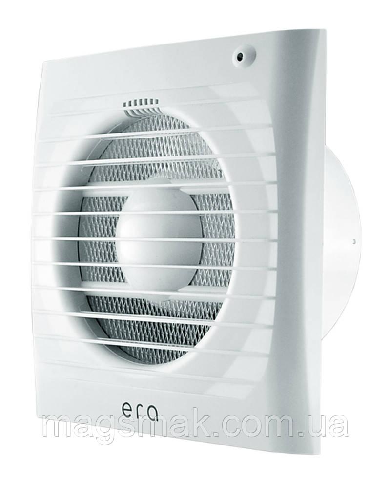 Вентилятор осевой вытяжной, ERA d 100 мм, обратный клапан (ERA 4C)