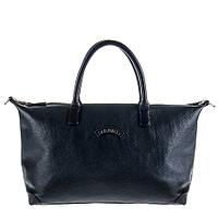 Женская кожаная сумка темно-синего цвета TONY PEROTTI 6080