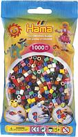 Термомозаика Набор цветных бусин Midi, 1000 шт., 22 цветов, Hama