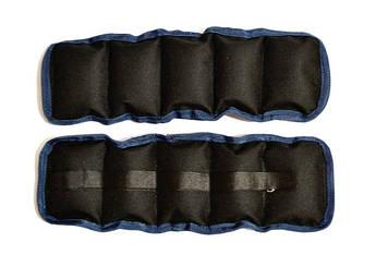 Утяжелители для рук/ног фиксированные 1,5 кг (2 по 750 г)