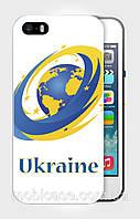 "Чехол для для iPhone 5/5s ""UKRAINE IN EU 3"""