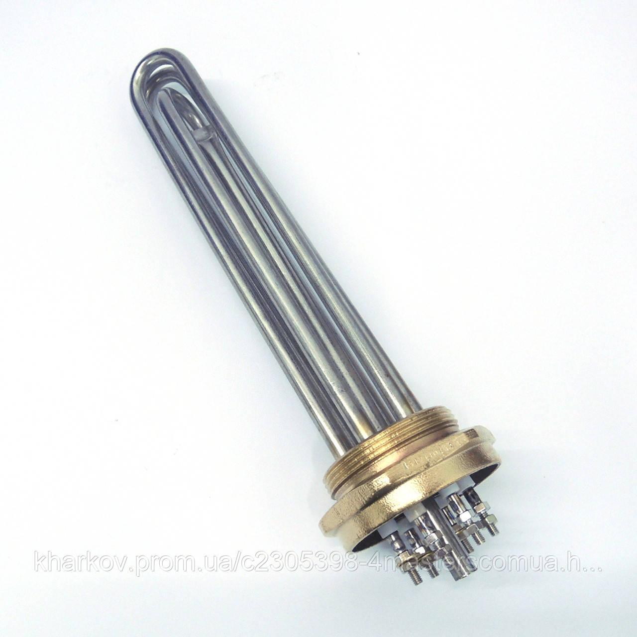 """Блок тэн 4,5 кВт 2,0"""" (59мм) для электрокотла отопления"""