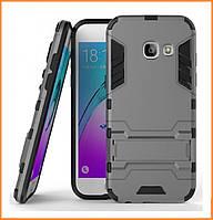 Чехол Stand для Samsung Galaxy J5 Prime SM-G570 Metallic Grey