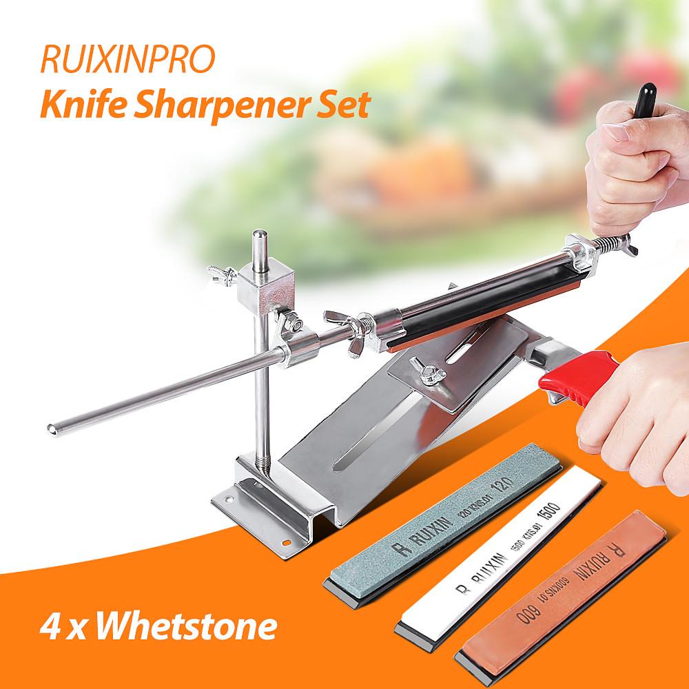 Профессиональная точилка для ножей Ruixin Pro III (4 камня). - фото 10
