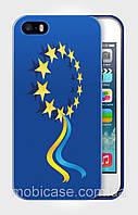 "Чехол для для iPhone 5/5s ""UKRAINE IN EU 4"""