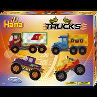 "Термомозаика Набор ""Машины та грузовики"" Midi, (3132), Hama"