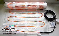 Тёплый пол — двужильный нагревательный мат WoksMat 160 (160 Вт) площадь обогрева 1,0 м²