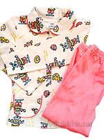 Пижама для девочки Розовые Зайцы ТМ Niso Baby 603ADp 122