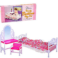 Мебель для кукол Gloria 9314 Cпальня