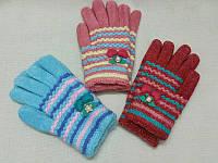 M Детские зимние перчатки с начёсом