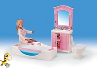 Мебель для кукол Gloria 24020 Ванная с джакузи