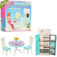 Мебель для кукол Gloria 2812 Кухня с холодильником