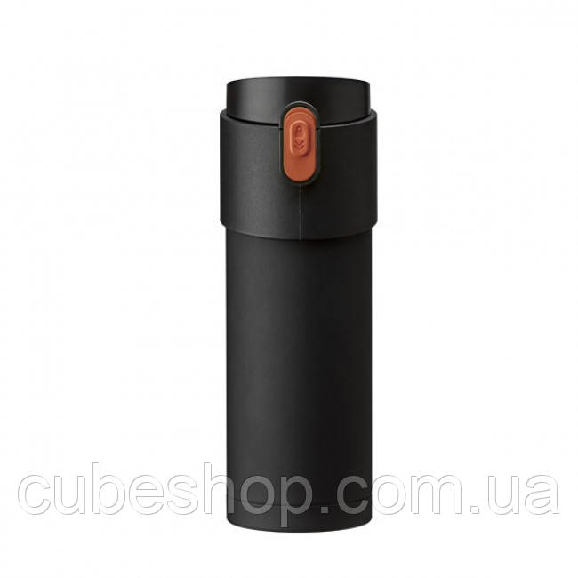 Термокружка с заварником Pao PO Selected 350 мл (черная)