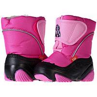 Дутики яскраві для дівчинки Demar Doggy рожеві 26-27 (17.0 cm)
