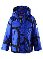 Ветровка для мальчика синяя ReimaTec 521402A - 6623. Размер 98.