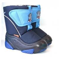 Зимові чоботи дутики для хлопчика Demar 26-27р - 17см; Doggy
