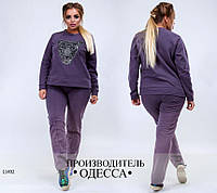 Спортивный костюм 621-17 Тигр R-11492 фиолет