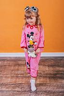 Пижама для девочки,кулир однотонный,р.26,28,30,34