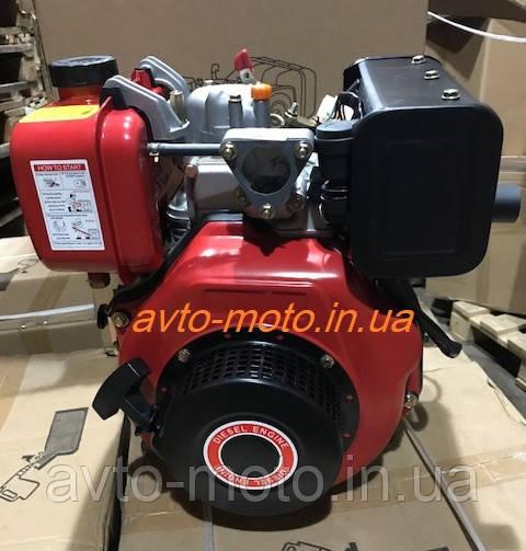 Двигатель мотоблок дизель178F под шлиц d=25 mm