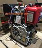 Двигатель мотоблок дизель178F под шлиц d=25 mm, фото 2