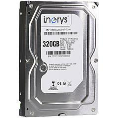 ✓Жесткий диск i.norys 320GB 7200rpm 8MB (INO-IHDD0320S2-D1-7208) быстрый игровой HDD