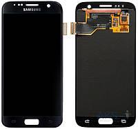 Дисплей (экран) для телефона Samsung Galaxy S7 G930F + Touchscreen Original Blue
