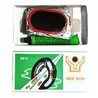 Клей с латками для велокамер Red Sun 1201