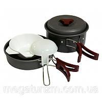 Набор посуды из анодированного алюминия Tramp TRC-025