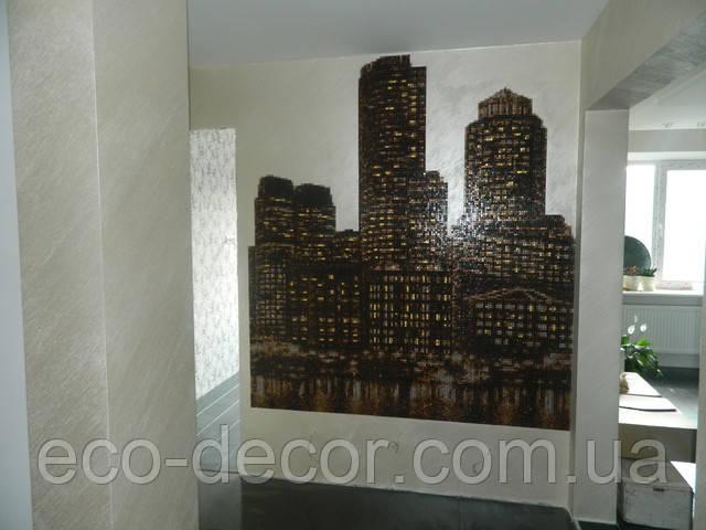 декоративная покраска стен, декор для стен, краска для стен