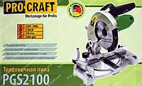 Пила торцовочная Procraft PGS-2100
