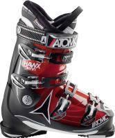 горнолыжные ботинки Atomic HAWX 2.0 100 TRANSPARENT RED/BLACK