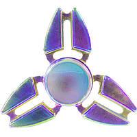Cпиннер металлический Fidget spinner TRIANGULAR Градиент игрушка антистресс