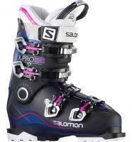 горнолыжные ботинки Salomon X PRO 80 W BLUE TRANSLUCENT/BLACK/PINK
