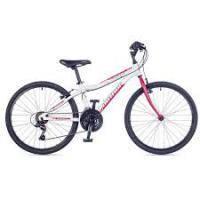 велосипед Author Ultima 24, цвет-белый/красный