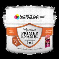 Грунт-эмаль 3 в 1 Днепр-Контакт белая 0,9 кг